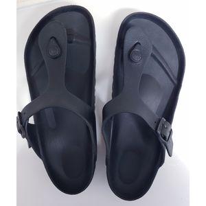 BIRKENSTOCK Gizeh Eva Thong Sand Black Size 7